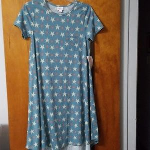Lularoe Carly Tshirt Dress XXS NWT